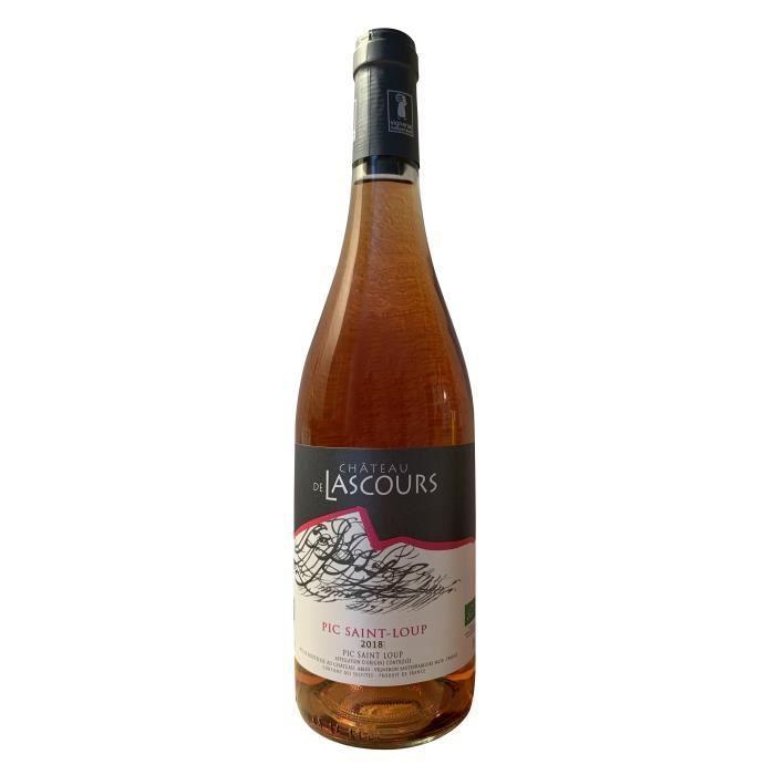 Vin Rosé Bio -Château de Lascours Pic Saint-Loup – Coteaux du Languedoc