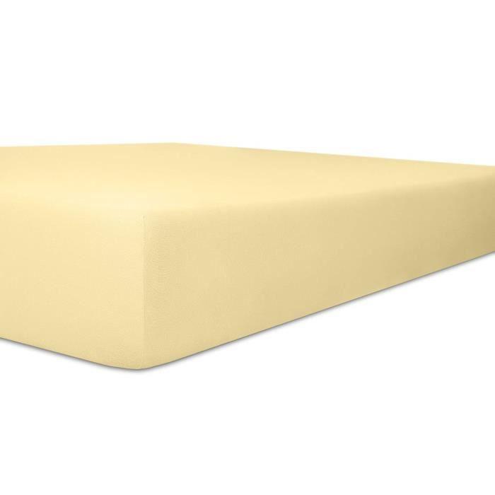 Kneer   Easy-Stretch Drap-housse élastique Qualité 25 Lin 120 x 200-130 x 220 cm - 2501202
