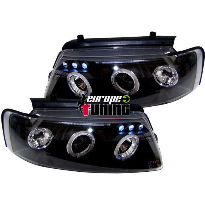 phares design, noir, H1/H1, reglage electrique, avec... 96-00 pour: Volkswagen Passat B5 96-00