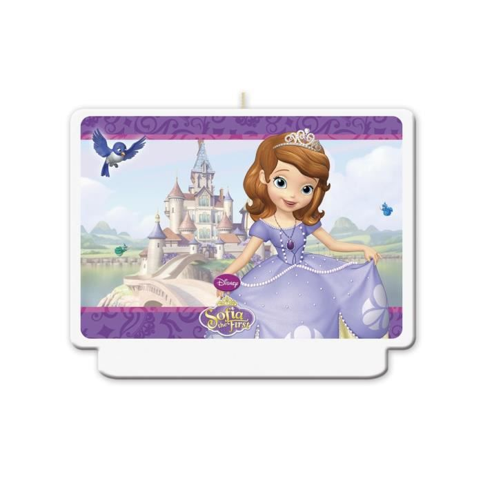 Bougie Princesse Sofia -