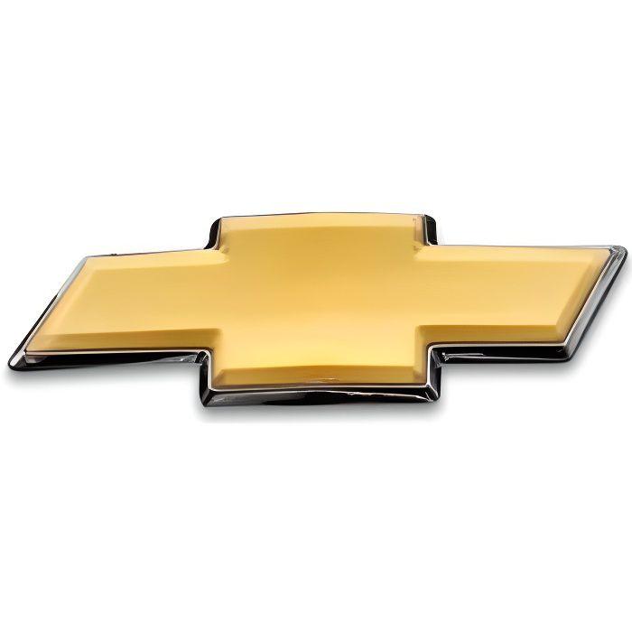 Emblème Badge autocollant 3d voiture emblème avant gril voiture coffre Logo remplacement pour Chevrolet captiva 2007 201 LX11856