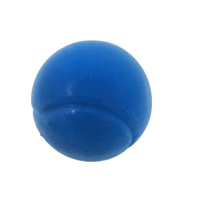 E-deals - Lot de balles de tennis en mousse - 70 mm, Pack of Six Blue