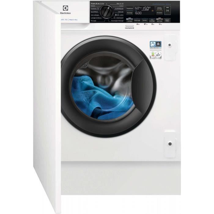 Lave-linge Séchant Intégrable Electrolux Ew7w1684bi1