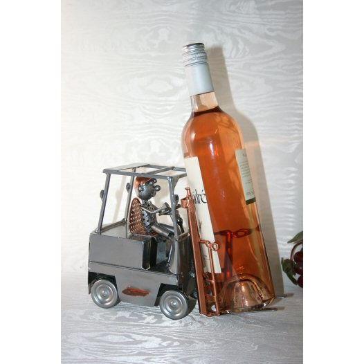 Porte bouteille Galion chariot élévateur