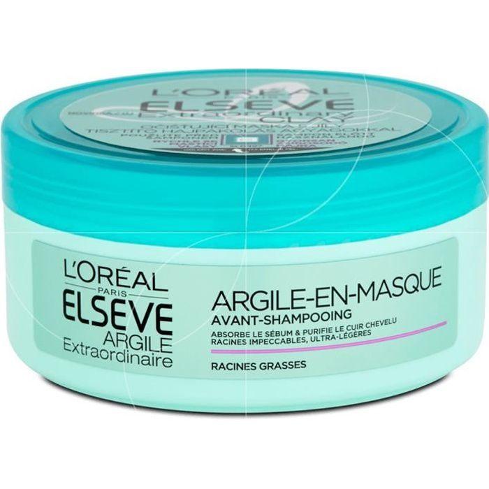 L'Oréal - Elseve - Masque capillaire Argile - 150ml
