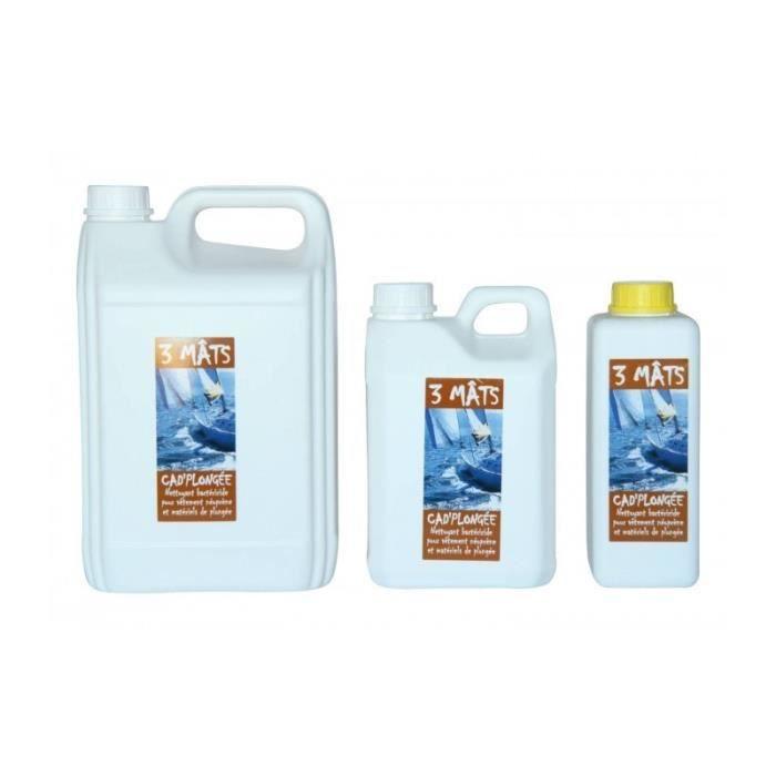 Nettoyant bactéricide pour néoprène plongée 5 L Jaune clair