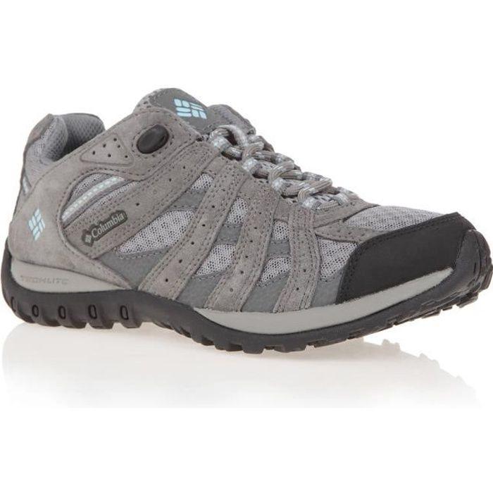 COLUMBIA Chaussures de randonnée Redmond Low LD - Femme - Gris