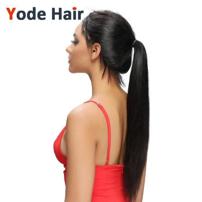 360 lace frontal closure cheveux naturel Bresiliennes lisse virgin hair