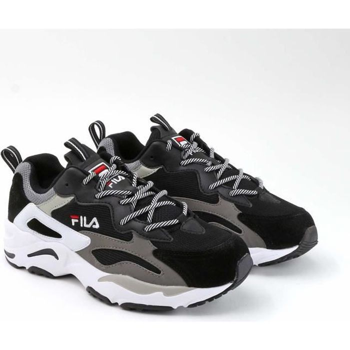FILA Baskets Ray Tracer Noir/Blanc Homme