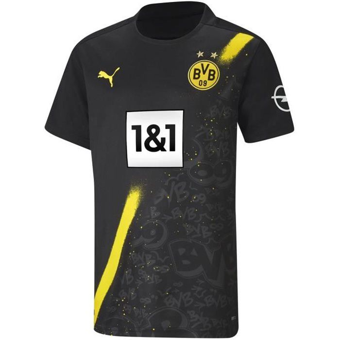 Puma Borussia Dortmund Maillot De Football Extérieur 2020 2021 Hommes