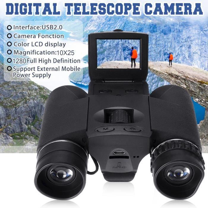 NEUFU BD318 12x32 Digital Télescope Jumelles Binoculaire 1080FHD USB Caméra Vidéo