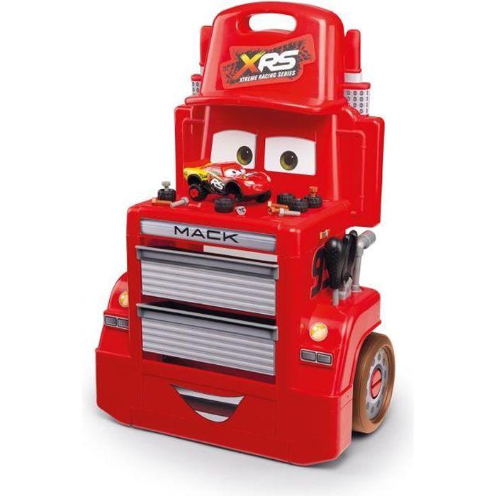 SMOBY Cars XRS Servante Mack Truck + Accessoires