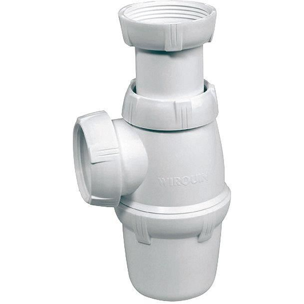 Siphon d'évier NF - 1 1/2 D: 40 mm