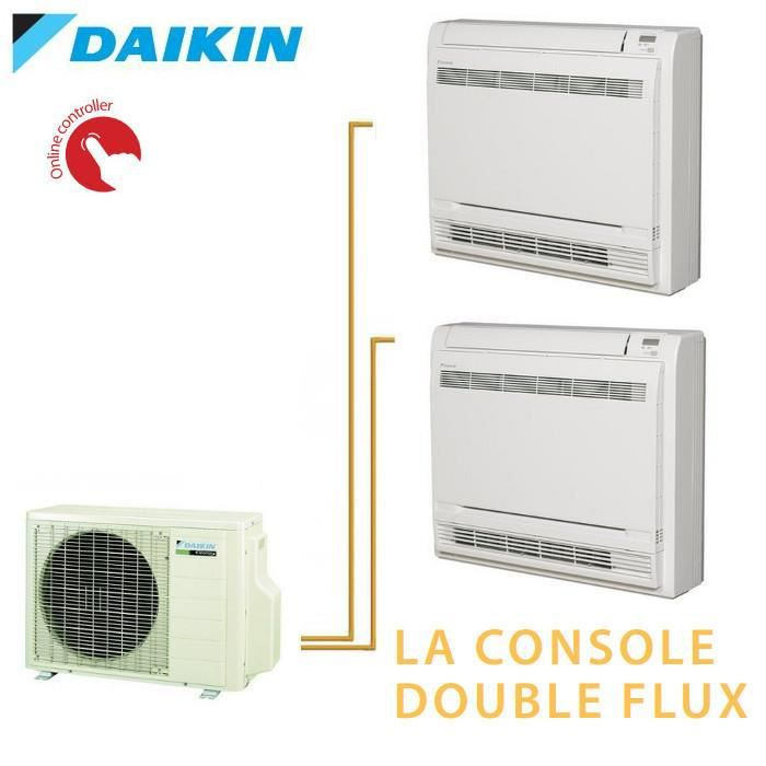 daikin bisplit inverter reversible 2mxs50h 2 achat. Black Bedroom Furniture Sets. Home Design Ideas
