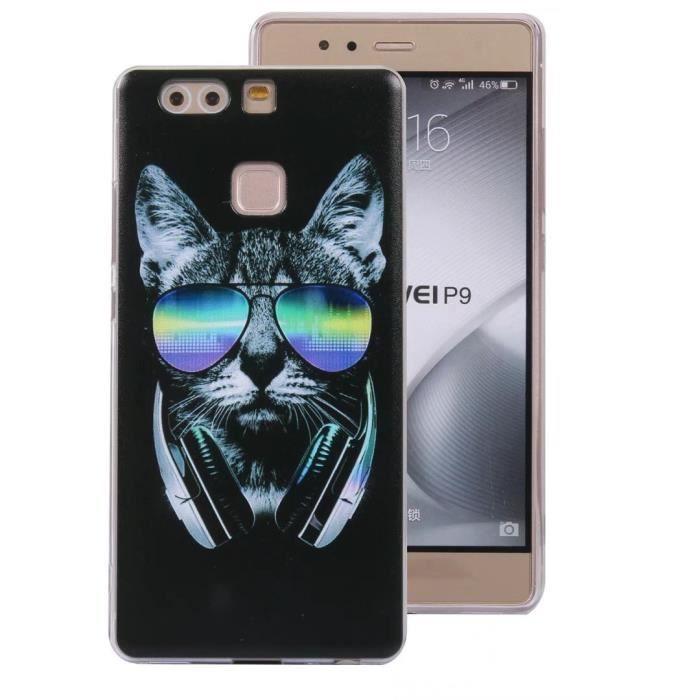 Coque Samsung Galaxy S7 Edge.Lunettes de soleil cool chat Motif ...