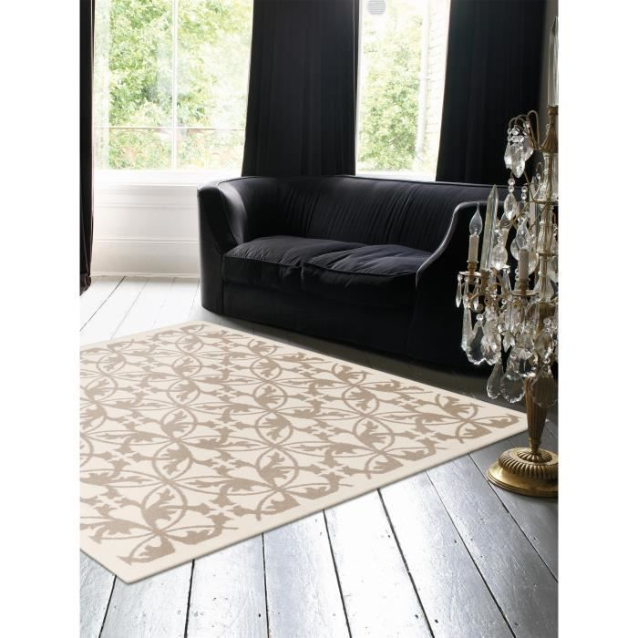 benuta tapis kaleido taupe 150x150 cm achat vente tapis cdiscount. Black Bedroom Furniture Sets. Home Design Ideas