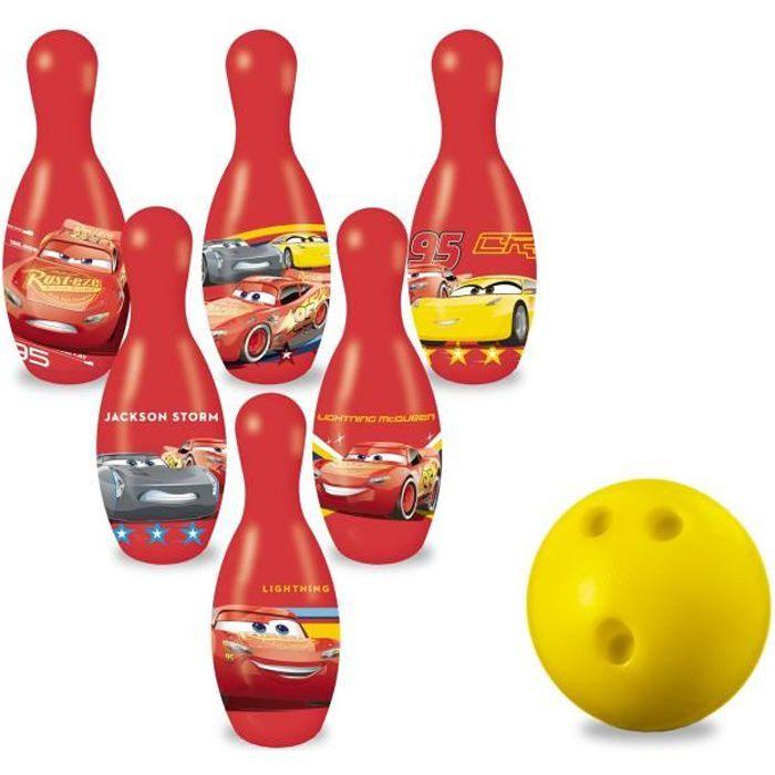 JEU DE QUILLE CARS 3 - Jeu de Quilles / Bowling - Enfant - Disne
