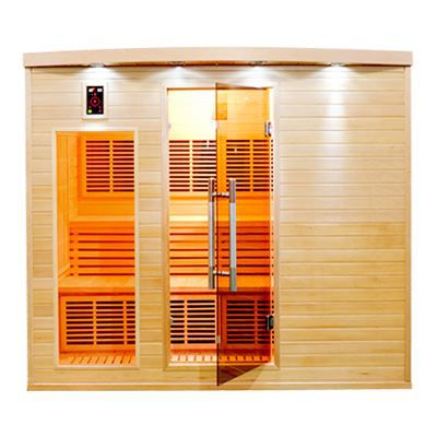 Sauna infrarouge apollon 5 places achat vente kit sauna sauna infraroug - Sauna infrarouge 4 places ...