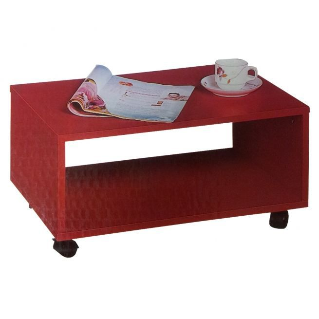 table basse rouge achat vente table basse table basse rouge cdiscount. Black Bedroom Furniture Sets. Home Design Ideas