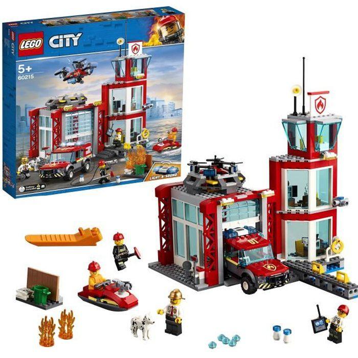 Photo de lego-city-60215-la-caserne-de-pompiers