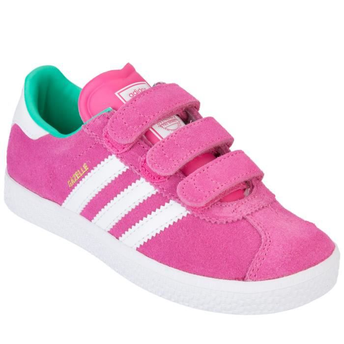 adidas originals baskets enfants fille gazelle 2 0 cf rose. Black Bedroom Furniture Sets. Home Design Ideas