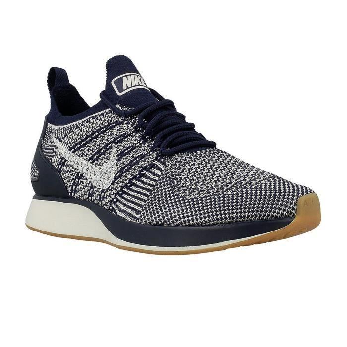 half price best place fantastic savings Chaussures Nike Air Zoom Mariah Flyknit Racer Blanc - Achat ...