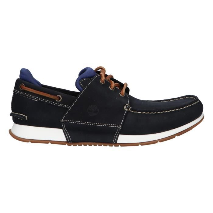 chaussure bateau hommes timberland