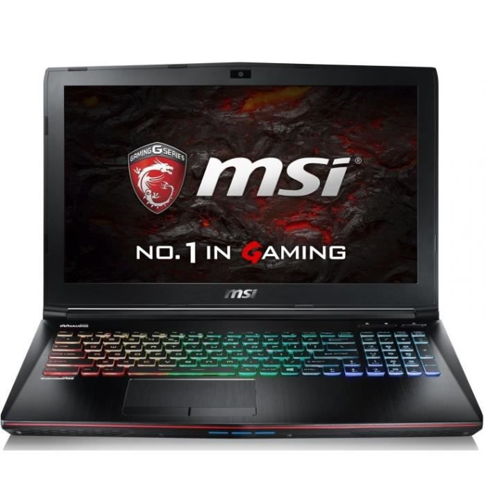 ordinateur portable 17 pouces gaming msi prix pas cher. Black Bedroom Furniture Sets. Home Design Ideas
