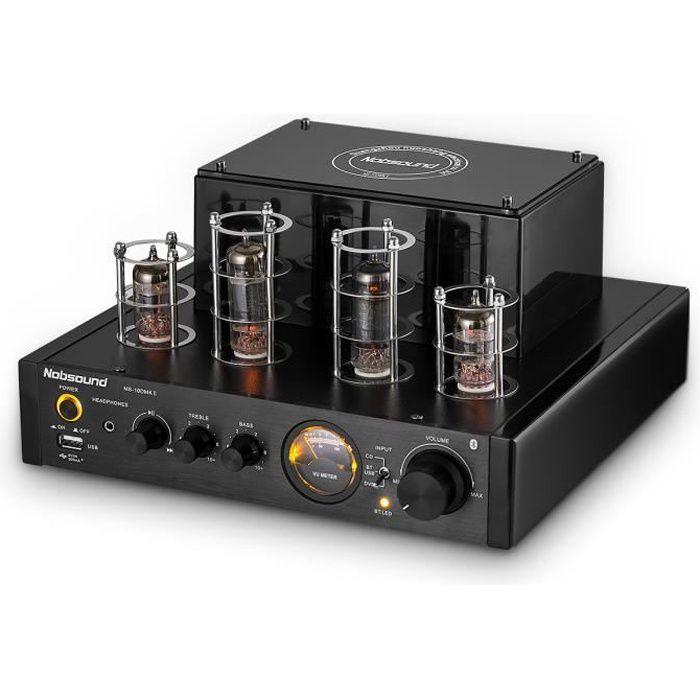 AMPLIFICATEUR HIFI Amplificateur à tube stéréo 25W*2 Bluetooth HiFi T
