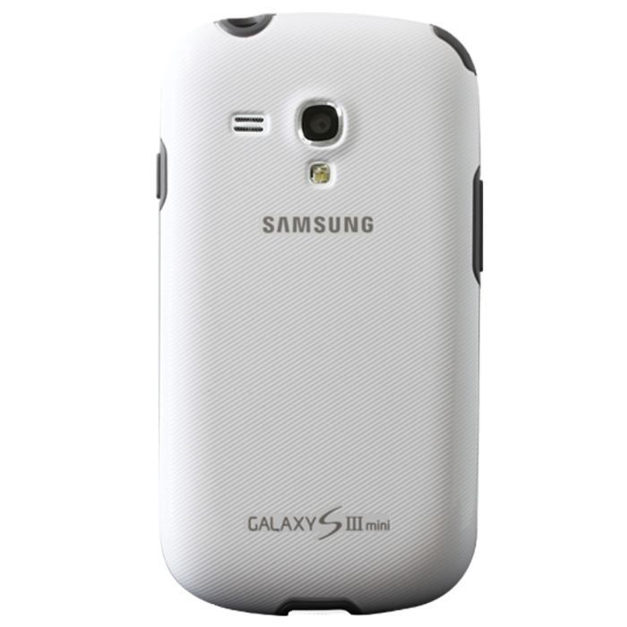 samsung coque galaxy s3 mini blanc achat vente samsung. Black Bedroom Furniture Sets. Home Design Ideas
