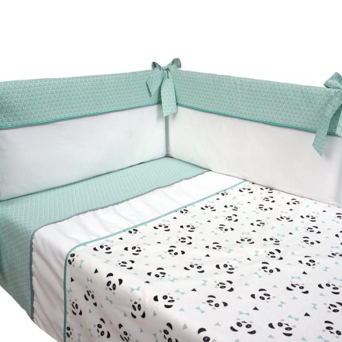 Parure de lit bebe tour de lit