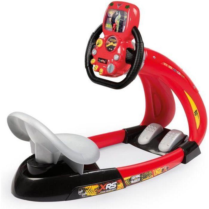 SIMULATEUR DE CONDUITE SMOBY simulateur de conduite Cars XRS V8 Driver +