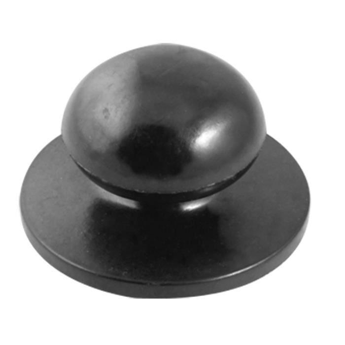 8x Poignée Noir Couvercle Casserole Poêle Bouton Poêles Couvercle poignée casserole poignée NEUF