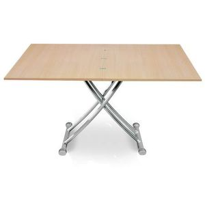 Table basse beige achat vente pas cher cdiscount for Table basse chene clair pas cher