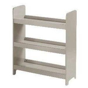 PETIT MEUBLE RANGEMENT  Etagère 3 niveaux en bois pour enfant - Taupe