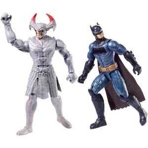 FIGURINE - PERSONNAGE Justice League Coffret Combat 2 Figurines 30cm S8U