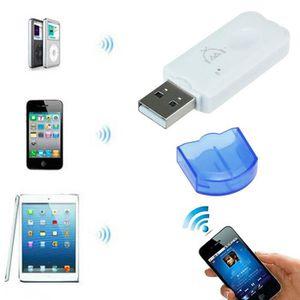 ADAPTATEUR BLUETOOTH Bleu adaptateur sans fil USB Bluetooth Audio Récep