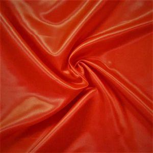 TISSU Tissu satin uni - Rouge - 1 mètre - Largeur 110 cm