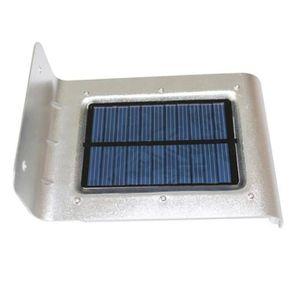 APPLIQUE EXTÉRIEURE Lampe 16 LED D'énergie Solaire Extérieure Détecteu