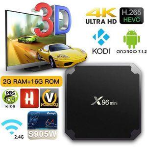 BOX MULTIMEDIA X96mini Smart TV Box Android 7.1.2 Amlogic S905W Q