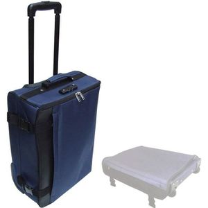Valise Trolley Pro tissu matelass/ée