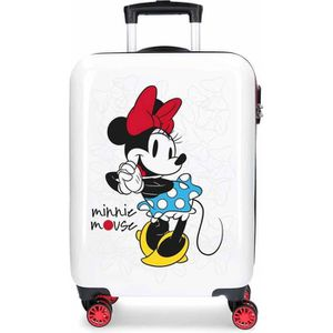 VALISE - BAGAGE Valise cabine 4 roues en ABS Minnie Mouse DISNEY.