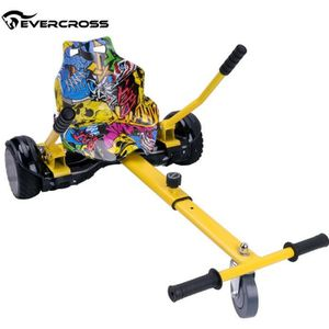 ACCESSOIRES GYROPODE - HOVERBOARD Evercross HoverKart Hip-Hop Chaise Kart-Accessoire