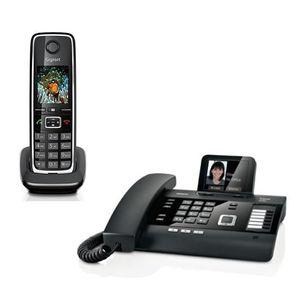 Téléphone fixe Gigaset DL500A Siemens Standard + 1 Combiné C530H