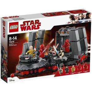 ASSEMBLAGE CONSTRUCTION LEGO® Star Wars™ 75216 Salle du trône de Snoke Epi