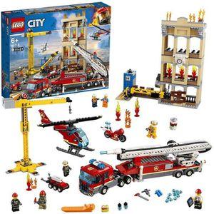 ASSEMBLAGE CONSTRUCTION LEGO® City 60216 Les pompiers du centre-ville