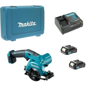 BATTERIE MACHINE OUTIL MAKITA HS301DSAE (2 x 2,0 Ah + DC10SA + Coffret)