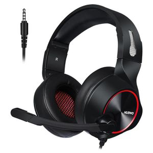 CASQUE AVEC MICROPHONE Casque Gaming 7.1 pour PS4 Xbox one avec Micro Ant