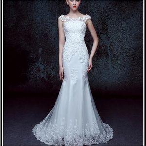 ROBE DE MARIÉE Robes de mariée en dentelle à la belle et belle en