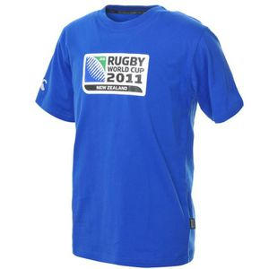 T-SHIRT CCC Rugby World Cup 2011 Logo T-Shirt Junior [roya
